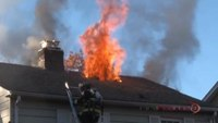 Reality Training: Safety at a two-story residential fire