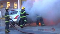 Reality Training: How to attack a car fire