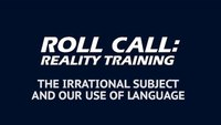 Reality Training: Responding to an armed, irrational subject