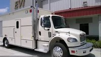 EVI custom 20-Ft. Explosive Disposal Truck