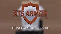 Range Day ATS Armor's Concealed Carry T-shirt w/IIIA soft body armor takes 11 Shots