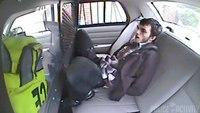 Dashcam footage shows suspect ejected from car during crash