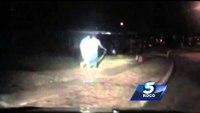 Okla. man tackles cop arresting DUI suspect
