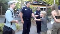 Cop amid volatile custody battle slaps boy after bitten