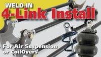 4-Link Rear Suspension Install