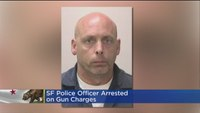 SF officer arrested on gun charges