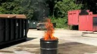 Stat-X First Responder Puts Out Simulated Bilge Fire