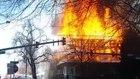 Major fire 17th Avenue and Park Ave Denver
