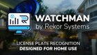 Watchman Home by Rekor - License Plate Recognition for Home Security