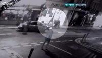 CCTV captures arrest of terror suspect