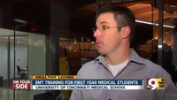 Med students receive EMT training