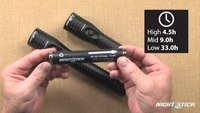 Nightstick NSR-9612/14 Duty / Personal-Size Metal Multi-Function Rechargeable LED Flashlights
