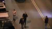 Multiple assaults captured on police surveillance