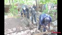 Police build house for elderly woman