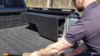 Pickup Truck Rapid Access Weapon Locker