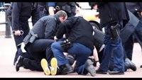 Police TASER knife-wielding man outside Buckingham Palace