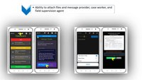 Managing probation and parole, engage with vulnerable citizens via smartphone check-ins