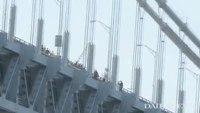 Police save second bridge jumper