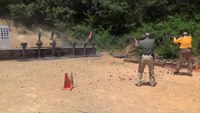 New Range Strategies Unpredictor Target System trains users with real-life firearm simulations