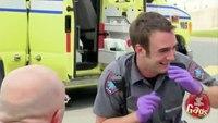 Paramedic hairpiece gag