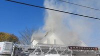 Third Alarm Structure Fire Chestnut Street Rochester New Hampshire