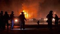EMS1 camera crew captures barrage of gunfire during Ferguson riots