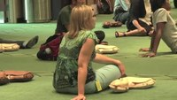 Mass CPR training event held at university