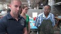 9/11 Leather Tribute Helmet: Helmet Production