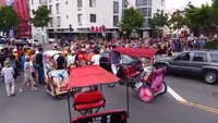 Car plows through Comic-Con 'zombie walk' crowd