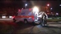 Ambulances drop off truckload of toys