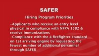 SAFER Grant Overview