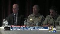 Yarnell Hill Fire Investigative Report press conference
