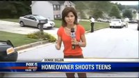 Teens attempt to burglarize home, leave with gun shot wounds