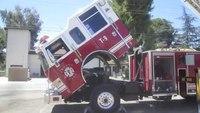 Pierce aerial ladder truck auction