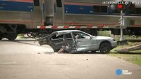 Amtrak train shears car in half in Fla. crash