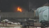Caught on camera: Wis. propane blast
