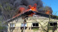 Greenville TX Stonewall St apartment fire