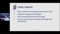Evidence Management Webinar Series Episode 6: Technology in Evidence Management