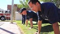 El Paso Fire Department completes push-up challenge