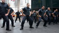New Zealand firefighters honor 9/11 victims with Haka dance