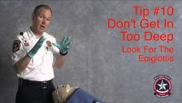 Safer VL intubation: Don't insert the ET tube too deep