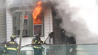Raw video: 3-alarm NJ house fire