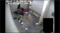 Video released Monday of Okla. inmate struggle