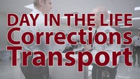 Day in the Life of a CCA Corrections Transportation Officer