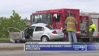 Lexington fire engine involved in deadly crash