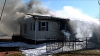 Raw video and radio traffic: NY house fire