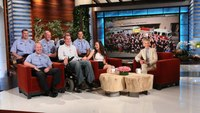 Responder with ALS featured on DeGeneres show