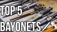 5 unique bayonets