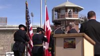 Fallen correctional officer medals presented at Washington State Penitentiary