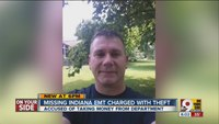 Missing Indiana EMT charged in theft of $106K from emergency rescue company